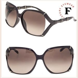 GUCCI Bamboo GG0505S Brown Horn